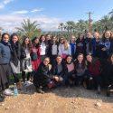 בנות שנה בארץ התארחו בשבת בקיבוץ מעלה גלבוע