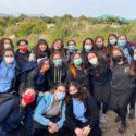 פעילות חקלאית של בנות שנה בארץ